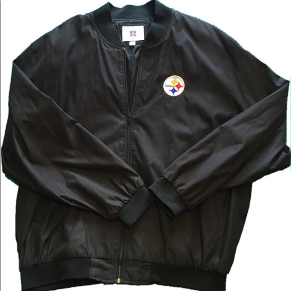 size 40 d0716 3b308 Classic Pittsburgh Steelers Bomber Jacket 🏈